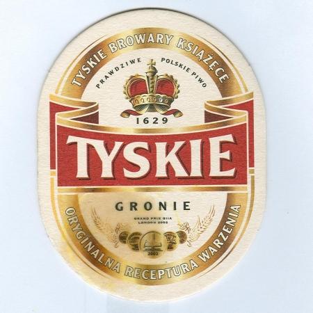 Tyskie alátét A oldal