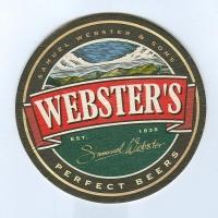 Webster's alátét A oldal