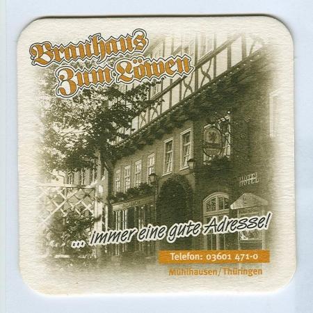 Willinger Brauhaus alátét B oldal