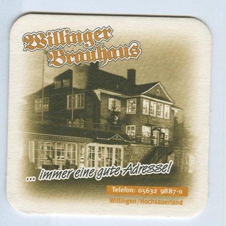 Willinger Brauhaus alátét A oldal