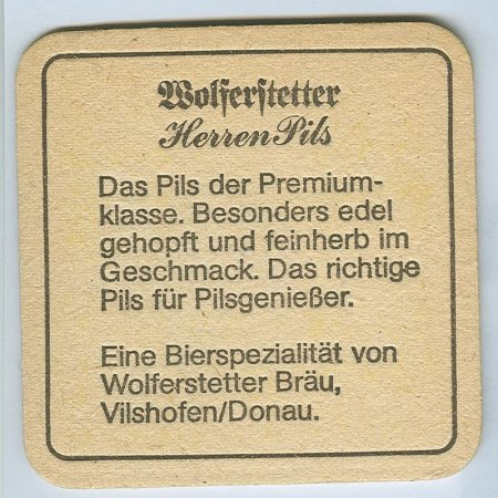 Wolferstetter alátét B oldal